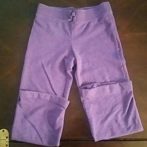 Girls Purple  sweatpants